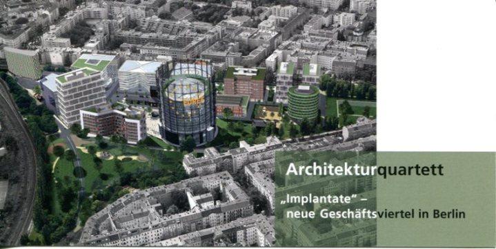 Einladung Architekturquartett %22Implantate%22Deckblatt
